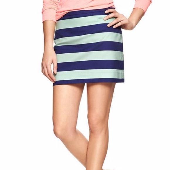 GAP Dresses & Skirts - Gap Rugby Stripe Skirt